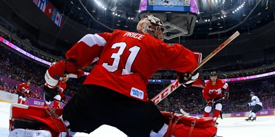 Carey Price won the gold medal at Sochi Olympics!